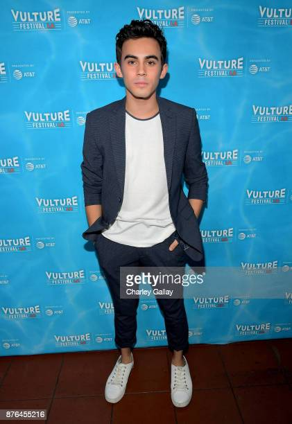 Actor Tyler Alvaraz attends the 'American Vandal' panel during Vulture Festival LA presented by ATT at Hollywood Roosevelt Hotel on November 19 2017...