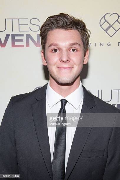 Actor Tyler attends '90 Minutes In Heaven' Atlanta premiere at Fox Theater on September 1 2015 in Atlanta Georgia