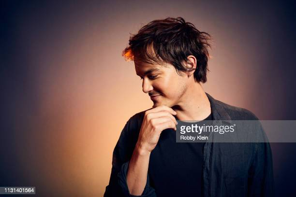 Actor Tyler Blackburn poses for a portrait at the 2019 SXSW Film Festival Portrait Studio on March 9 2019 in Austin Texas