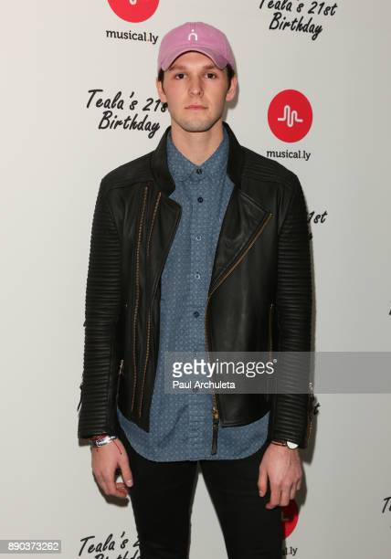 Actor Tyler Case attends Teala Dunn's 21st Birthday Party on December 10 2017 in Los Angeles California