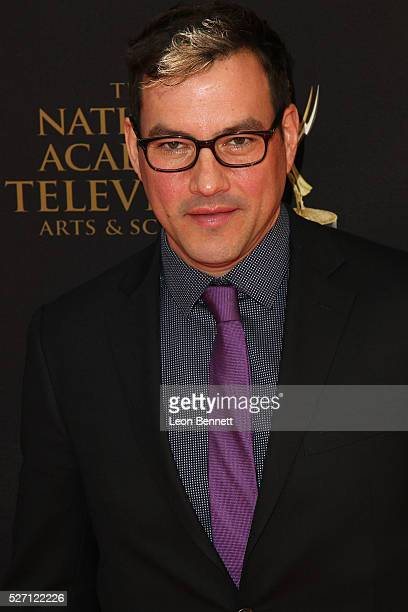 Actor Tyler Christopher attends the 2016 Daytime Emmy Awards Arrivals at Westin Bonaventure Hotel on May 1 2016 in Los Angeles California