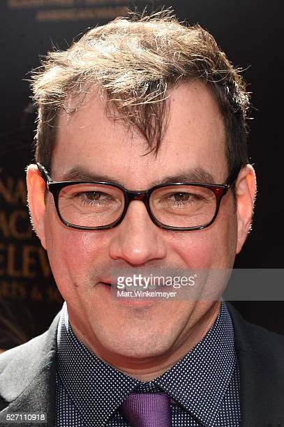 Actor Tyler Christopher walks the red carpet at the 43rd Annual Daytime Emmy Awards at the Westin Bonaventure Hotel on May 1 2016 in Los Angeles...