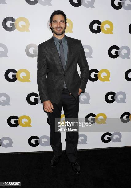 Actor Tyler Hoechlin arrives at the 2013 GQ Men Of The Year Party at The Ebell of Los Angeles on November 12 2013 in Los Angeles California