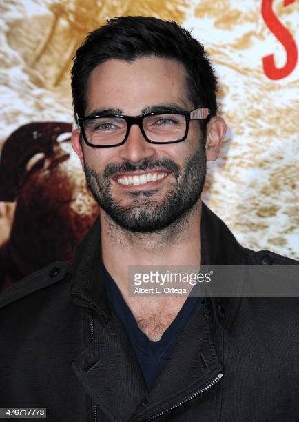 Actor Tyler Hoechlin arrives for the Premiere Of Warner Bros Pictures And Legendary Pictures' '300 Rise Of An Empire' held at TCL Chinese Theatre on...