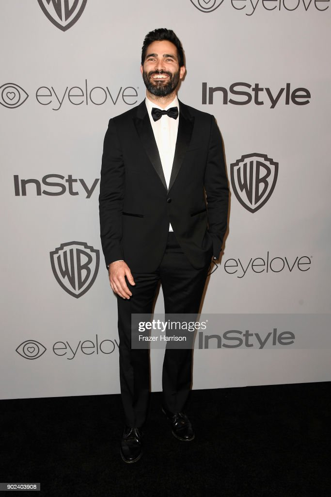 Actor Tyler Hoechlin attends 19th Annual Post-Golden Globes Party hosted by Warner Bros. Pictures and InStyle at The Beverly Hilton Hotel on January 7, 2018 in Beverly Hills, California.