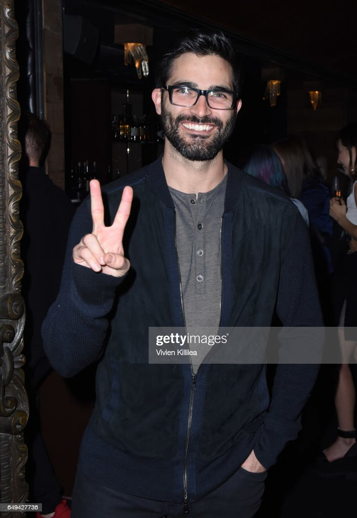 Actor Tyler Hoechlin attends a private event hosted by Hudson at Hyde Staples Center for a Red Hot Chili Peppers concert on March 7, 2017 in Los Angeles, California.