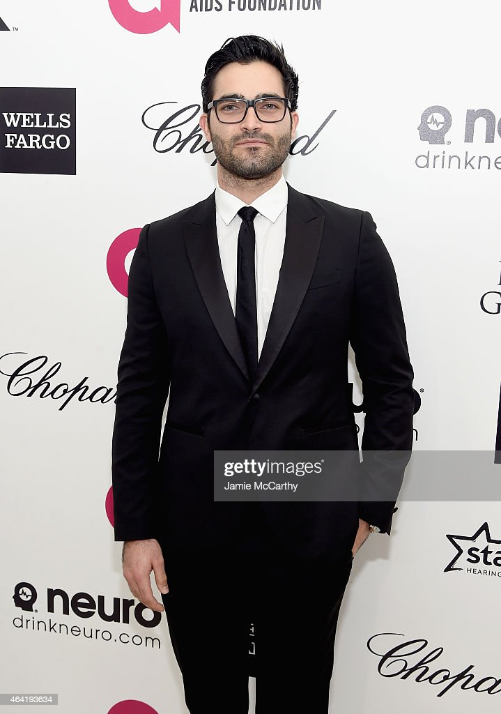 Actor Tyler Hoechlin attends the 23rd Annual Elton John AIDS Foundation Academy Awards Viewing Party on February 22, 2015 in Los Angeles, California.