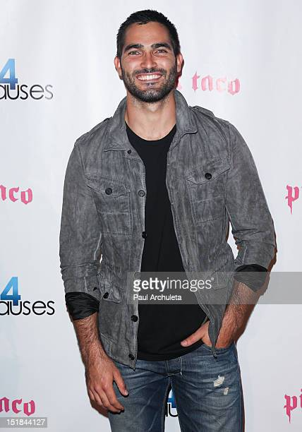 Actor Tyler Hoechlin attends the Cops4Causes' inaugural Heroes Helping Heroes at Pink Taco on September 11 2012 in Los Angeles California