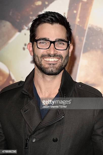 Actor Tyler Hoechlin attends the premiere of Warner Bros Pictures and Legendary Pictures' '300 Rise Of An Empire' at TCL Chinese Theatre on March 4...