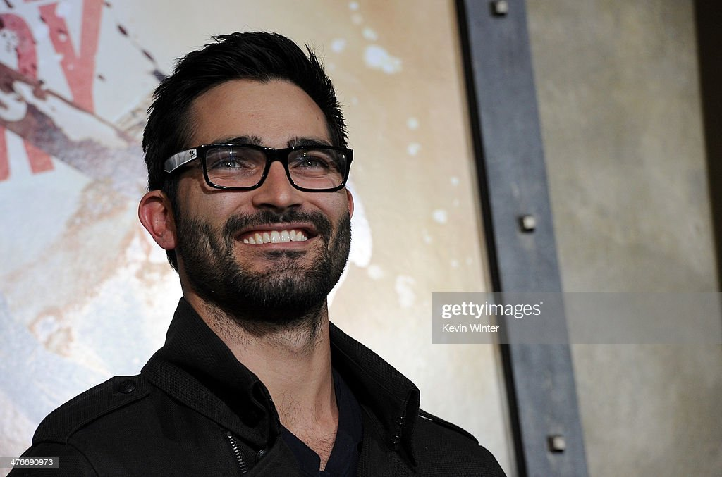 Actor Tyler Hoechlin attends the premiere of Warner Bros. Pictures and Legendary Pictures' '300: Rise Of An Empire' at TCL Chinese Theatre on March 4, 2014 in Hollywood, California.