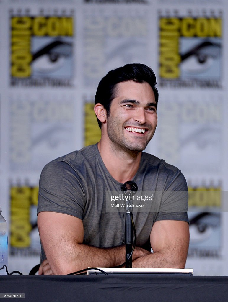 Actor Tyler Hoechlin attends the 'Supergirl' Special Video Presentation and Q&A during Comic-Con International 2016 at San Diego Convention Center on July 23, 2016 in San Diego, California.