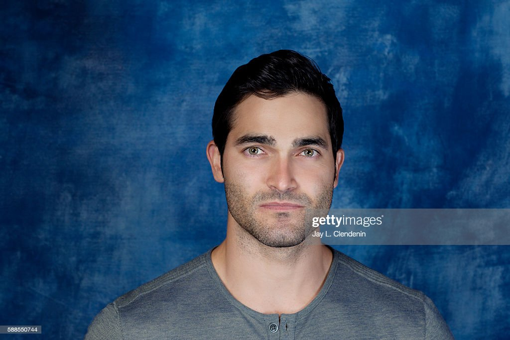 Actor Tyler Hoechlin of 'Supergirl' is photographed for Los Angeles Times at San Diego Comic Con on July 22, 2016 in San Diego, California.