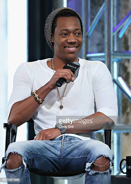 Actor Tyler James William discusses his new show 'Replay' during AOL Build Speaker Series at AOL Studios In New York on April 19 2016 in New York City