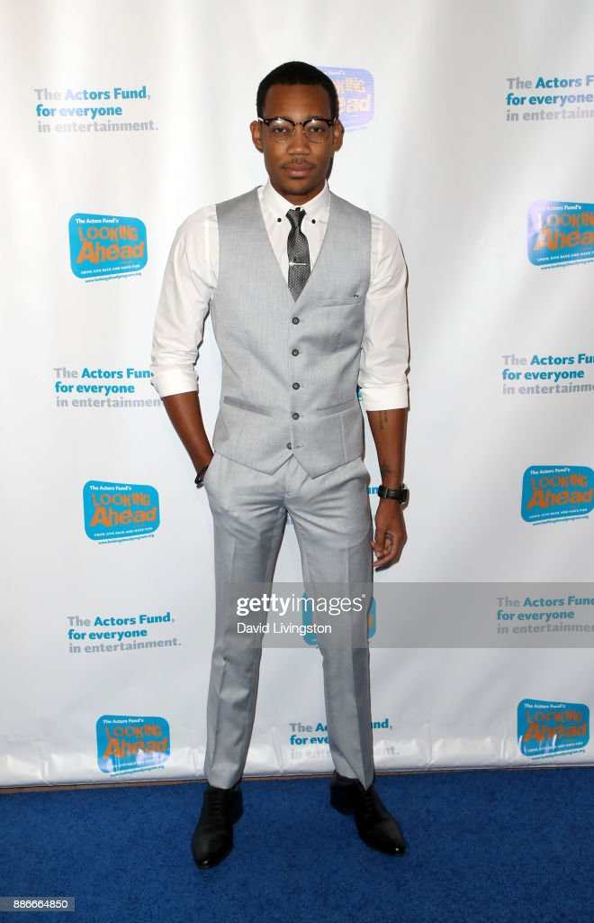 Actor Tyler James Williams attends The Actors Fund's 2017 Looking Ahead Awards honoring the youth cast of NBC's 'This Is Us' at Taglyan Complex on December 5, 2017 in Los Angeles, California.
