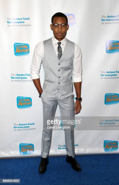 Actor Tyler James Williams attends The Actors Fund's 2017 Looking Ahead Awards honoring the youth cast of NBC's 'This Is Us' at Taglyan Complex on...