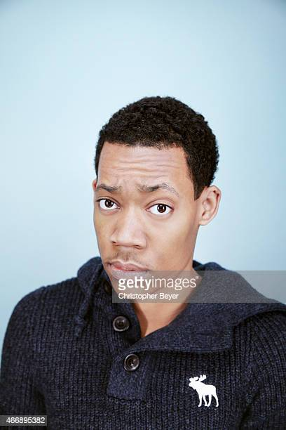 Actor Tyler James Williams is photographed for Entertainment Weekly Magazine on January 25 2014 in Park City Utah