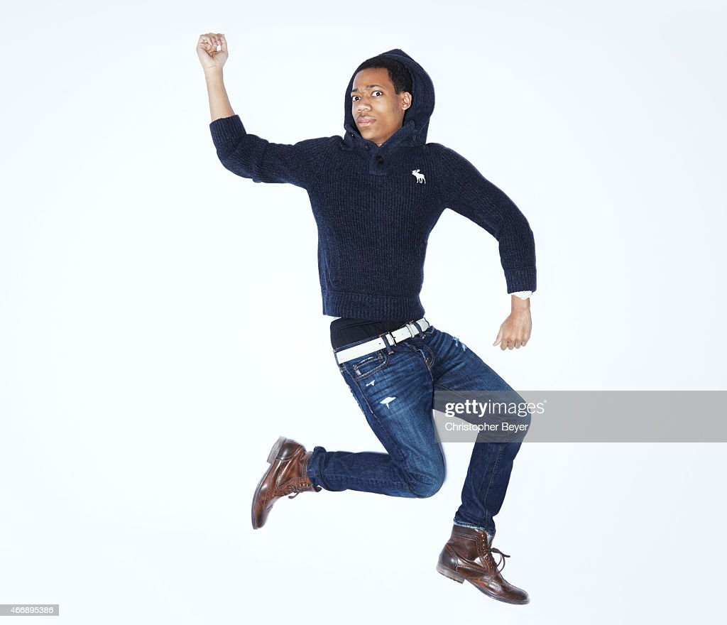 Actor Tyler James Williams is photographed for Entertainment Weekly Magazine on January 25, 2014 in Park City, Utah.