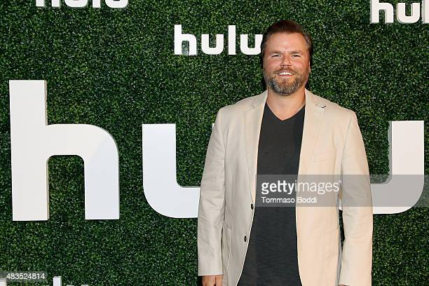 Actor Tyler Labine attends the Hulu 2015 Summer TCA Presentation at The Beverly Hilton Hotel on August 9 2015 in Beverly Hills California