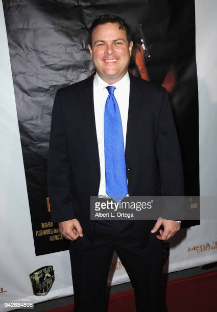 Actor Tyler McDanniel arrives for the Los Angeles Premiere of 'Miles To Go' held at Writers Guild Theater on April 5 2018 in Beverly Hills California