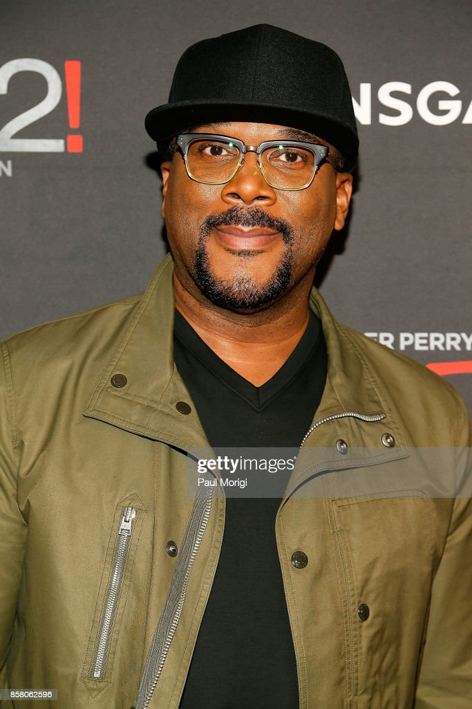 actor tyler perry arrives at tyler perrys boo2 a madea halloween premiere at