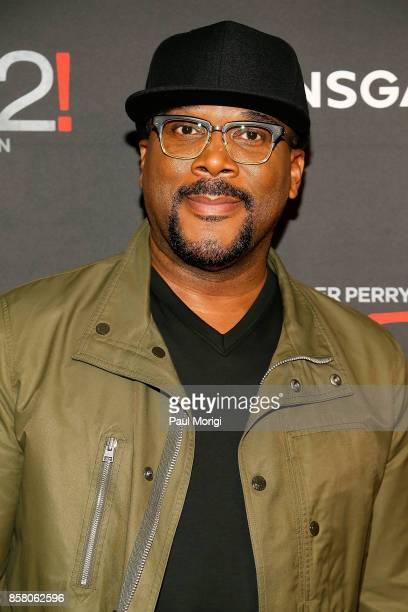 Actor Tyler Perry arrives at Tyler Perry's Boo2 A Madea Halloween premiere at AMC Mazza Gallerie 14 on October 5 2017 in Washington DC