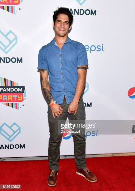 Actor Tyler Posey at FANDOM's Annual ComicCon KickOff Party at Float at Hard Rock Hotel San Diego on July 20 2017 in San Diego California