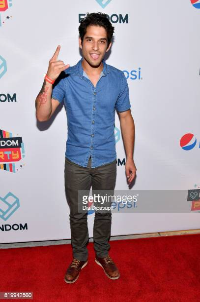 Actor Tyler Posey at FANDOM's Annual Comic-Con Kick-Off Party at Float at Hard Rock Hotel San Diego on July 20, 2017 in San Diego, California.