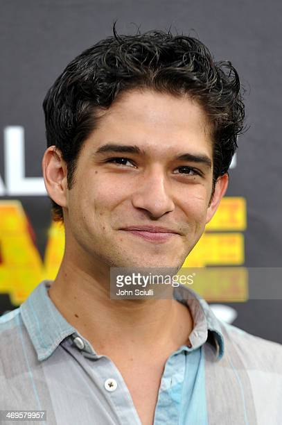 Actor Tyler Posey attends Cartoon Network's fourth annual Hall of Game Awards at Barker Hangar on February 15 2014 in Santa Monica California