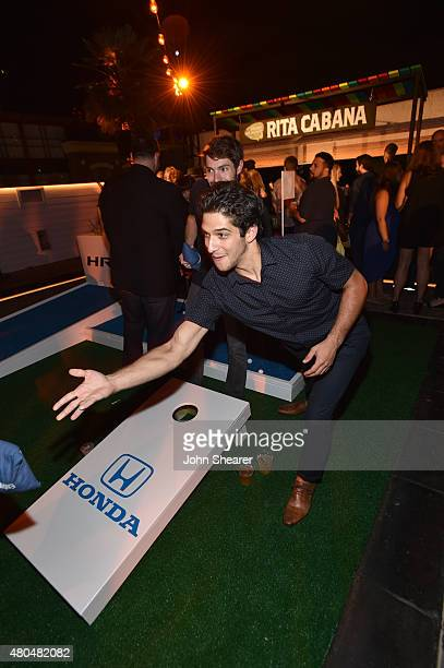 Actor Tyler Posey attends Entertainment Weekly's ComicCon 2015 Party sponsored by HBO Honda Bud Light Lime and Bud Light Ritas at FLOAT at The Hard...