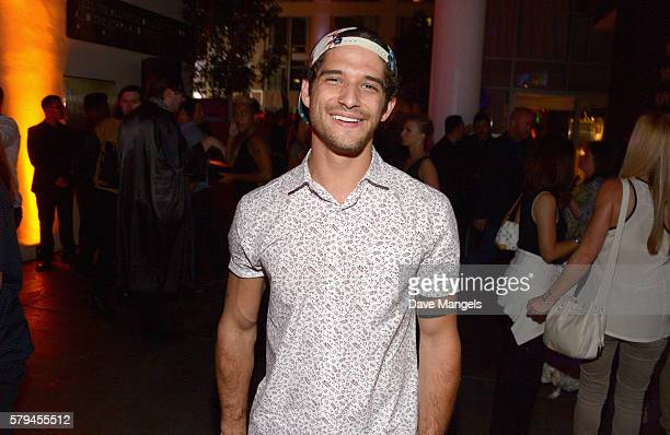 Actor Tyler Posey attends Entertainment Weekly's ComicCon Bash held at Float Hard Rock Hotel San Diego on July 23 2016 in San Diego California...