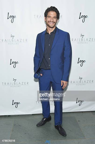 Actor Tyler Posey attends Logo's Trailblazer Honors 2015 at the Cathedral of St John the Divine on June 25 2015 in New York City