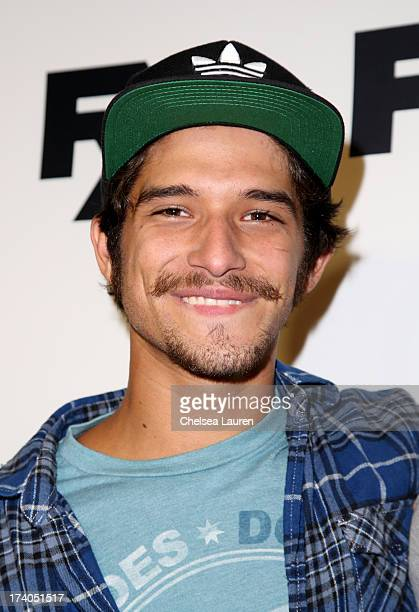 Actor Tyler Posey attends the Maxim FX and Home Entertainment ComicCon Party on July 19 2013 in San Diego California