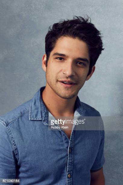 Actor Tyler Posey from MTV's 'Teen Wolf' poses for a portrait during ComicCon 2017 at Hard Rock Hotel San Diego on July 20 2017 in San Diego...