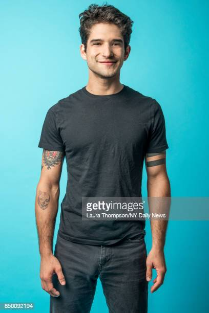 Actor Tyler Posey is photographed for NY Daily News on October 8 2016 at Comic Con in New York City CREDIT MUST READ Laura Thompson/New York Daily...