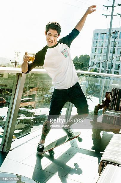 Actor Tyler Posey is photographed for The Wrap on November 20 2015 in Los Angeles California