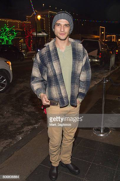 Actor Tyler Posey is seen around town at the Sundance Film Festival on January 25 2016 in Park City Utah