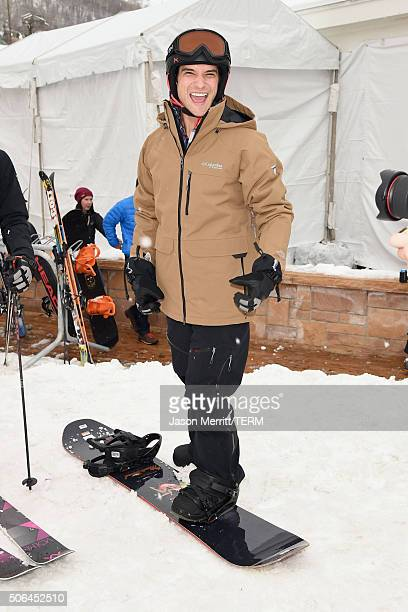 Actor Tyler Posey is seen at the Sundance Film Festival on January 23 2016 in Park City Utah
