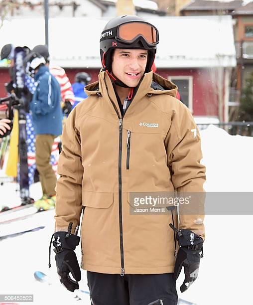 Actor Tyler Posey is seen at the Sundance Film Festival on January 23 2016 in Park City Utah