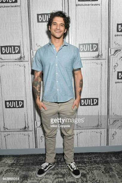 Actor Tyler Posey of Blumhouse's Truth or Dare visits Build Studio on April 9 2018 in New York City