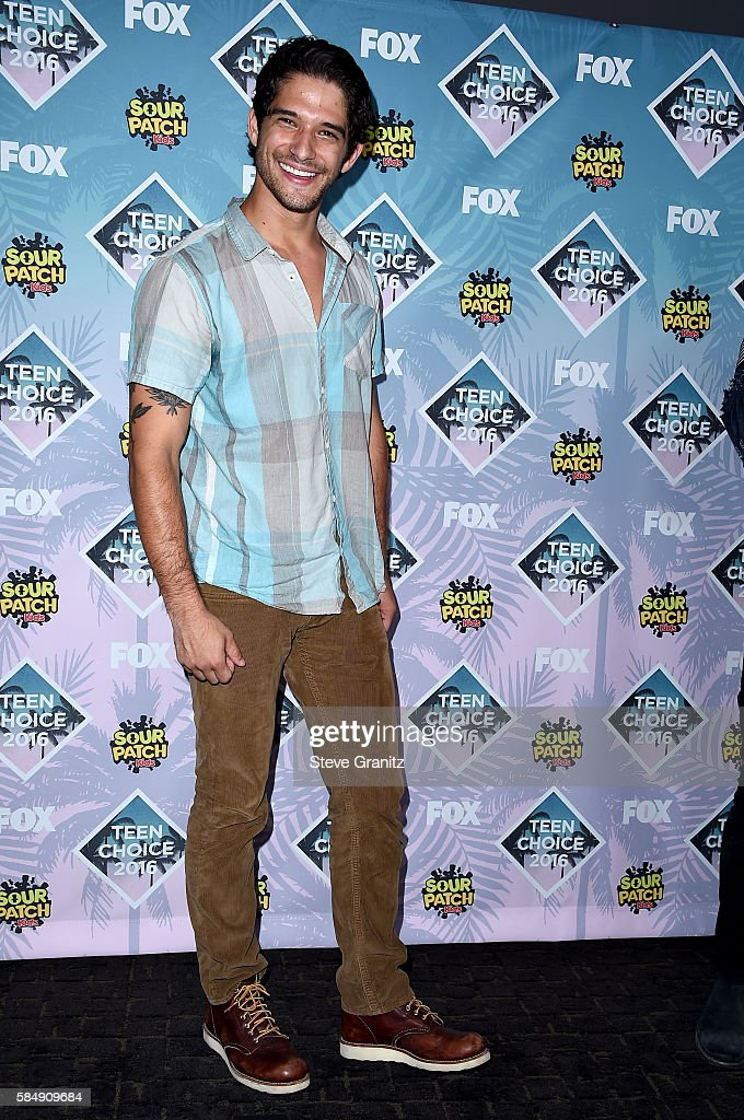 Actor Tyler Posey poses in the press room during Teen Choice Awards 2016 at The Forum on July 31, 2016 in Inglewood, California.