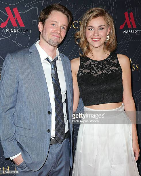 Actor Tyler Ritter and actress Margot Luciarte attend the premiere of 'French Kiss' at Marina del Rey Marriott on May 19 2015 in Marina del Rey...