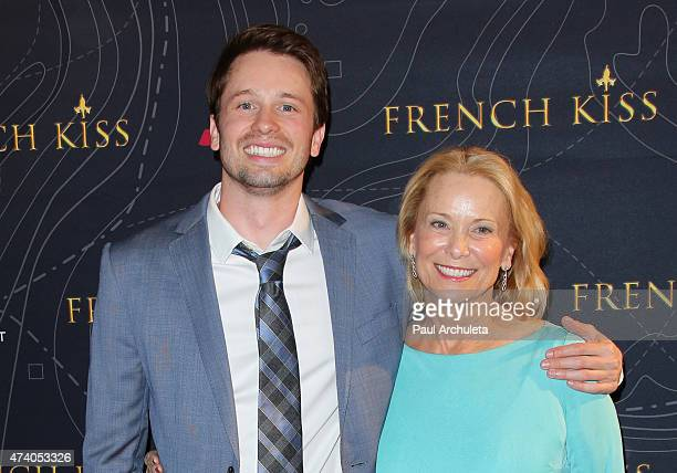 Actor Tyler Ritter and his Mother Nancy Morgan Ritter attend the premiere of French Kiss at The Marina del Rey Marriott on May 19 2015 in Marina del...
