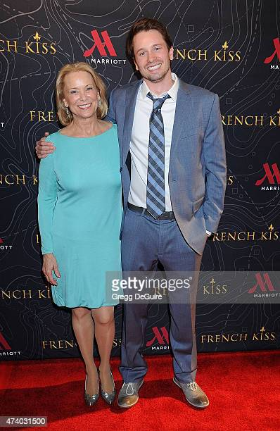 Actor Tyler Ritter and Nancy Morgan Ritter arrive at the premiere of French Kiss at the Marina del Rey Marriott on May 19 2015 in Marina del Rey...
