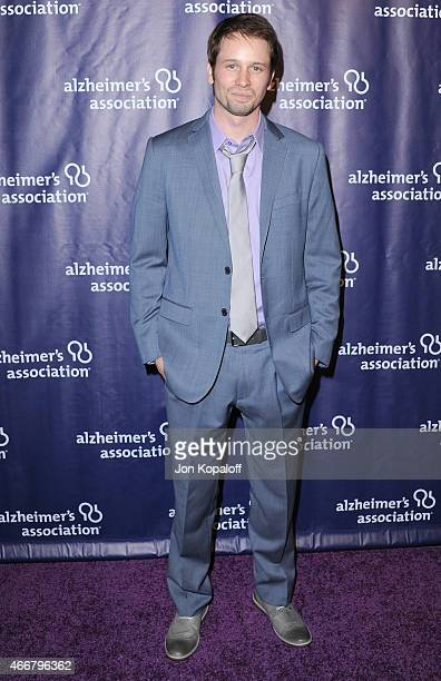 Actor Tyler Ritter arrives at the 23rd Annual A Night At Sardi's To Benefit The Alzheimer's Association at The Beverly Hilton Hotel on March 18 2015...