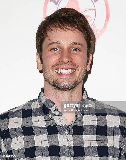 Actor Tyler Ritter attends a Red Sox charity event to benefit The Jimmy Fund Children's Hospital LA's Cancer Researchers G1VE A BUCK Fund at The...