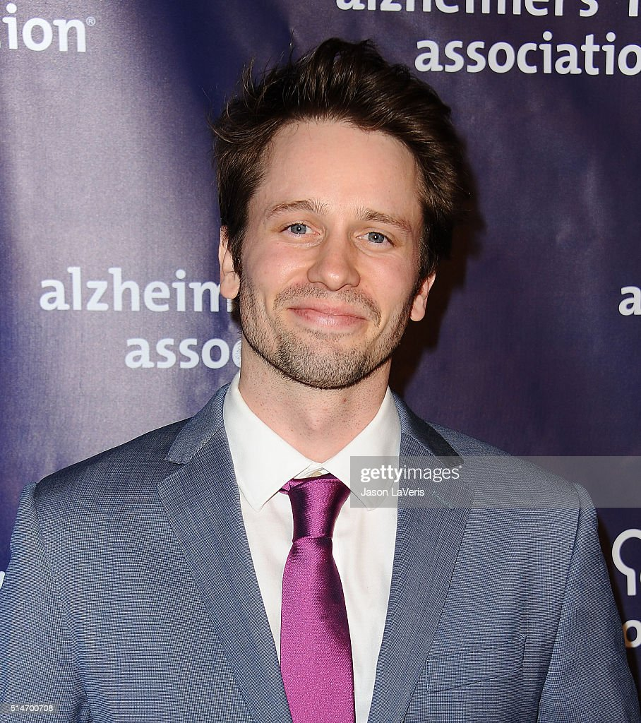 Actor Tyler Ritter attends the 2016 Alzheimer's Association's 'A Night At Sardi's' at The Beverly Hilton Hotel on March 9, 2016 in Beverly Hills, California.