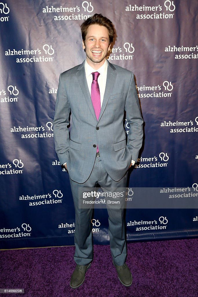 Actor Tyler Ritter attends the 24th and final 'A Night at Sardi's' to benefit the Alzheimer's Association at The Beverly Hilton Hotel on March 9, 2016 in Beverly Hills, California.