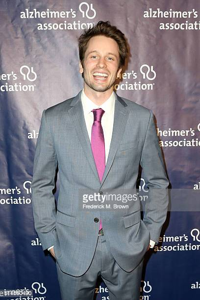 Actor Tyler Ritter attends the 24th and final A Night at Sardi's to benefit the Alzheimer's Association at The Beverly Hilton Hotel on March 9 2016...