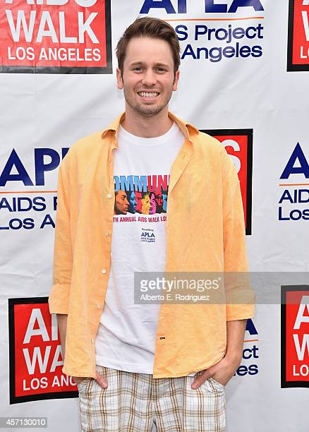 Actor Tyler Ritter attends the 30th Annual AIDS Walk Los Angeles on October 12 2014 in West Hollywood California