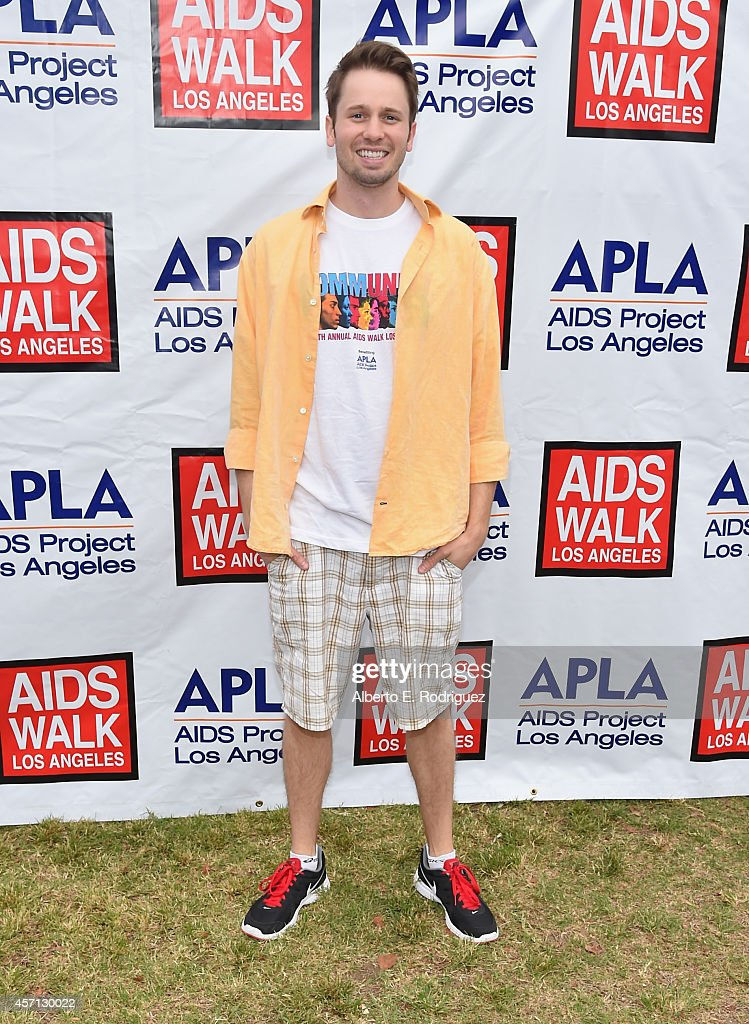 Actor Tyler Ritter attends the 30th Annual AIDS Walk Los Angeles on October 12, 2014 in West Hollywood, California.